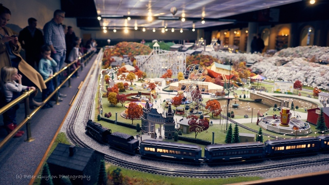 Carnegie Science Center Miniature Railroad